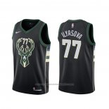 Maillot Milwaukee Bucks Ersan Llyasova #77 Statement Noir