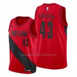 Maillot Portland Trail Blazers Anthony Tolliver #43 Statement Rouge