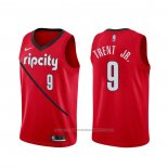 Maillot Portland Trail Blazers Gary Trent Jr. #9 Earned Rouge