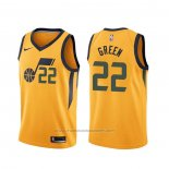 Maillot Utah Jazz Jeff Green #22 Statement Jaune
