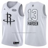 Maillot All Star 2018 Houston Rockets James Harden #13 Blanc