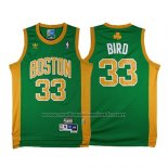 Maillot Boston Celtics Larry Bird #33 Retro Vert2