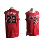 Maillot Chicago Bulls Michael Jordan #23 Retro Rouge2