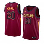 Maillot Cleveland Cavaliers Brandon Knight #20 Icon 2018 Rouge