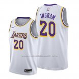 Maillot Los Angeles Lakers Andre Ingram #20 Association Blanc