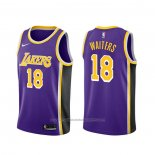 Maillot Los Angeles Lakers Dion Waiters #18 Statement Volet