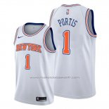 Maillot New York Knicks Bobby Portis #1 Statement Blanc
