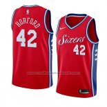 Maillot Philadelphia 76ers Al Horford #42 Statement 2019-20 Rouge