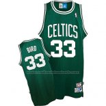 Maillot Boston Celtics Larry Bird #33 Retro Vert