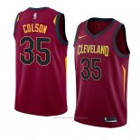 Maillot Cleveland Cavaliers Bonzie Colson #35 Icon 2018 Rouge