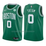 Maillot Enfant Boston Celtics Jayson Tatum #0 Icon 2017-18 Vert