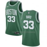 Maillot Enfant Boston Celtics Larry Bird #33 Ville 2018 Vert
