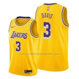 Maillot Los Angeles Lakers Anthony Davis #3 Icon 2019 Jaune