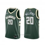 Maillot Milwaukee Bucks Marvin Williams #20 Icon Vert