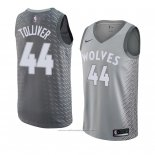 Maillot Minnesota Timberwolves Anthony Tolliver #44 Ville 2018 Gris
