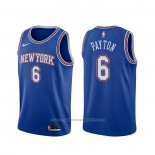 Maillot New York Knicks Elfrid Payton #6 Statement 2019-20 Bleu