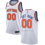Maillot New York Knicks Personnalise 17-18 Blanc