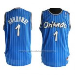 Maillot Orlando Magic Anfernee Hardaway #1 Retro Bleu