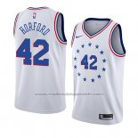 Maillot Philadelphia 76ers Al Horford #42 Earned 2019-20 Blanc