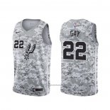 Maillot San Antonio Spurs Rudy Gay #22 Earned Camouflage