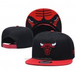 Casquette Chicago Bulls 9FIFTY Snapback Rouge Noir