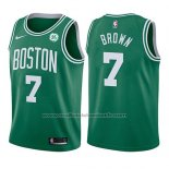 Maillot Enfant Boston Celtics Jaylen Brown #7 Icon 2017-18 Vert
