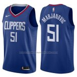 Maillot Los Angeles Clippers Boban Marjanovic #51 Icon 2017-18 Bleu