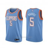 Maillot Los Angeles Clippers Montrezl Harrell #5 Ville Bleu
