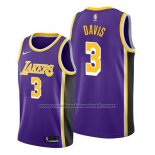 Maillot Los Angeles Lakers Anthony Davis #3 Statement 2019 Volet