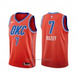 Maillot Oklahoma City Thunder Darius Bazley #7 Statement Orange