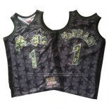 Maillot Orlando Magic Tracy McGrady #1 Retro Noir2