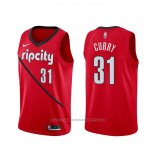 Maillot Portland Trail Blazers Seth Curry #31 Earned Rouge