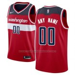 Maillot Washington Wizards Personnalise 17-18 Rouge