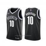 Maillot Brooklyn Nets Justin Anderson #10 Icon Noir