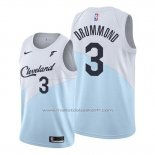 Maillot Cleveland Cavaliers Andre Drummond #3 Earned 2019-20 Bleu