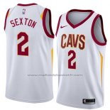 Maillot Cleveland Cavaliers Collin Sexton #2 Association 2018 Blanc