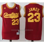 Maillot Cleveland Cavaliers LeBron James #23 Retro Rouge2