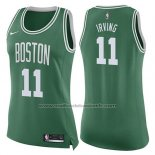 Maillot Femme Boston Celtics Kyrie Irving #11 Icon 2017-18 Vert