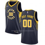 Maillot Indiana Pacers Personnalise 17-18 Noir