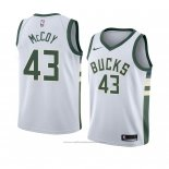 Maillot Milwaukee Bucks Brandon Mccoy #43 Association 2018 Blanc