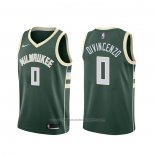 Maillot Milwaukee Bucks Donte Divincenzo #0 Icon Vert
