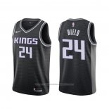 Maillot Sacramento Kings Buddy Hield #24 Statement Noir