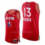 Maillot All Star 2020 Western Conference James Harden #13 Rouge