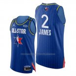 Maillot All Star 2020 Western Conference Lebron James #2 Bleu
