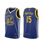 Maillot Golden State Warriors Mychal Mulder #15 Icon Bleu