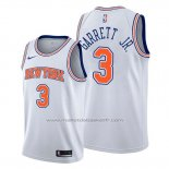 Maillot New York Knicks Billy Garrett Jr. #3 Statement Blanc
