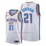 Maillot Oklahoma City Thunder Andre Roberson #21 Association Blanc
