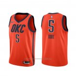 Maillot Oklahoma City Thunder Luguentz Dort #5 Earned 2020 Orange