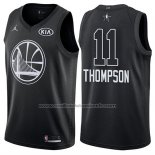Maillot All Star 2018 Golden State Warriors Klay Thompson #11 Noir
