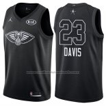 Maillot All Star 2018 New Orleans Pelicans Anthony Davis #23 Noir